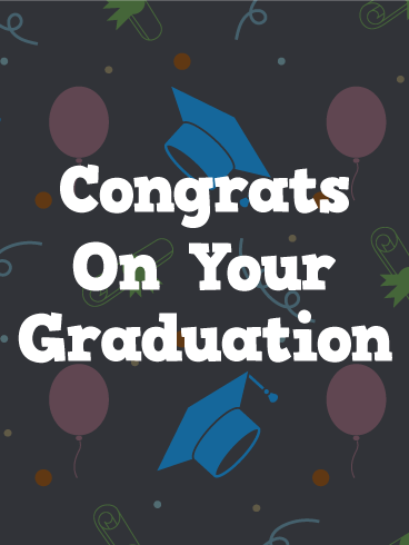 Pop Graduation Card