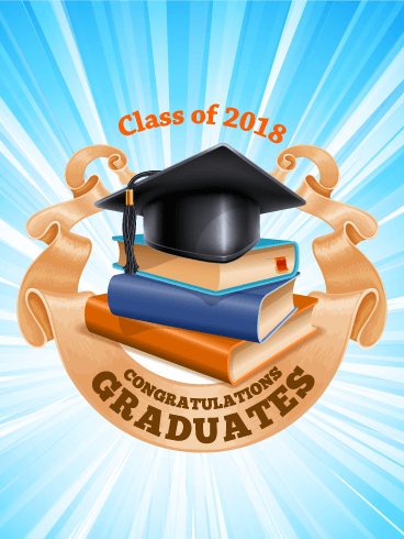Congrats graduates graduation card 2018 birthday greeting cards graduation card 2018 m4hsunfo