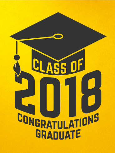 Image result for congrats grads 2018