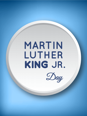 Martin Luther King Day Celebration Card