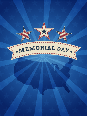 Memorial Day Celebration Card