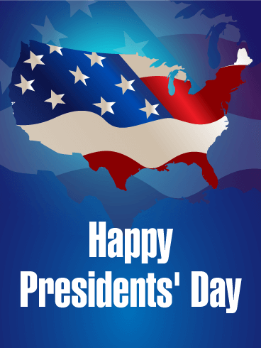 Presidents' Day Celebration Card