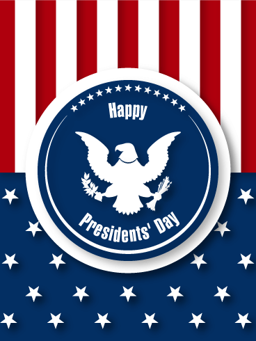 Presidents' Day Card