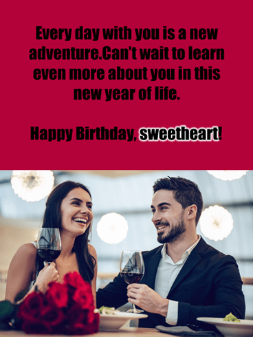 Every Day An Adventure – Birthday Wish Card for Him