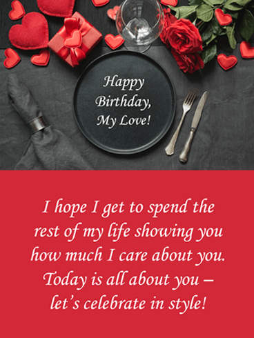 Celebrate in Style – Birthday Wish Card for Him