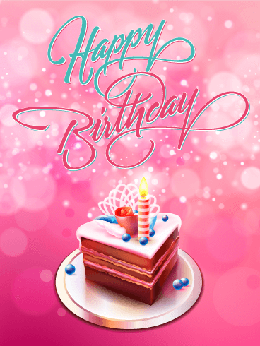 Its a birthday treat happy birthday card birthday greeting its a birthday treat happy birthday card bookmarktalkfo Image collections