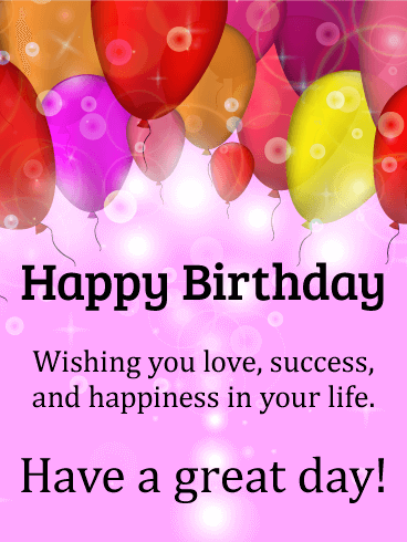 Wishing you happiness shining happy birthday card birthday wishing you happiness shining happy birthday card m4hsunfo