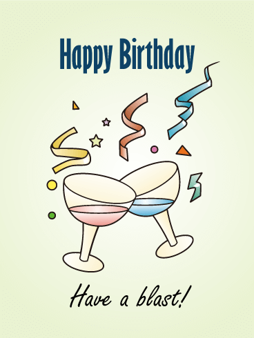 Have a Blast! Birthday Card