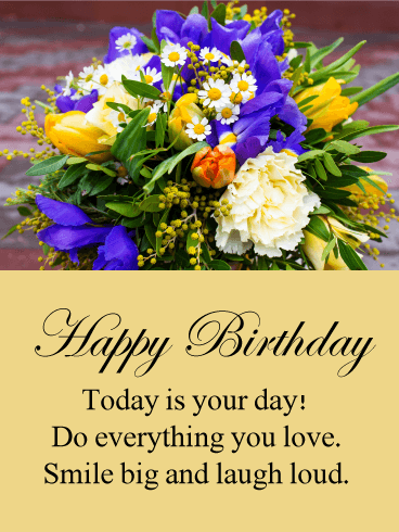 Today is Your Day! Happy Birthday Card