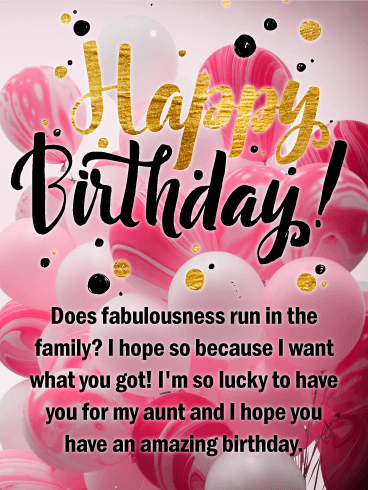 Happy Birthday Auntie Messages With Images Birthday Wishes And