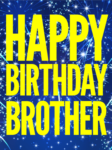 You Rock Brother! Happy Birthday Card
