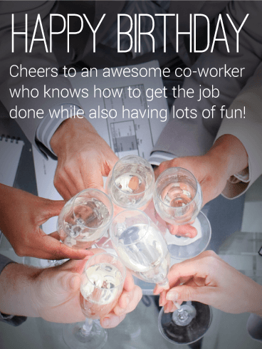 To the Sweetest Co-Worker - Happy Birthday Card | Birthday ...