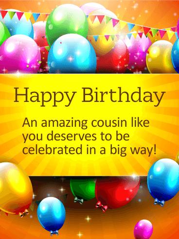 Celebrate In A Big Way