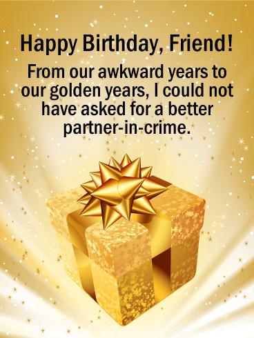 To My Best Treasure Happy Birthday Card For Friends Birthday