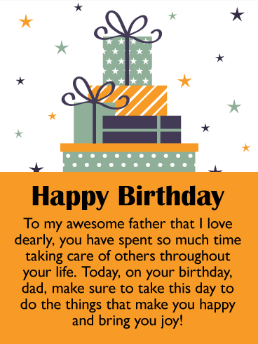 Birthday Gift Box Cards For Father Birthday Greeting Cards By