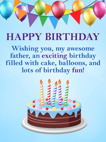 Have Lots of Fun! Happy Birthday Card