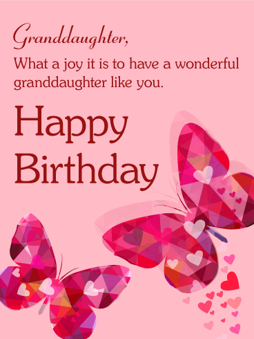 pink butterfly happy birthday cards birthday greeting cards by