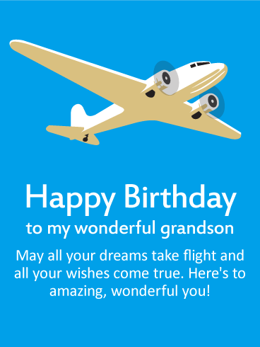 Birthday wishes for grandson birthday wishes and messages by davia happy birthday to my wonderful grandson may all your dreams take flight and all your m4hsunfo