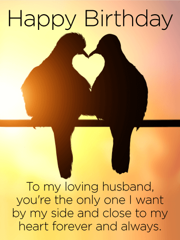 To My Loving Husband