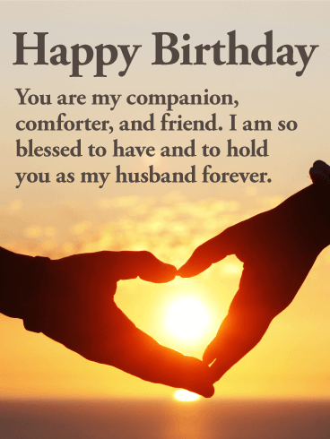 You are my Everything! Happy Birthday Wishes Card for Husband
