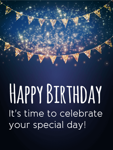 It's Your Special Day! Happy Birthday Card