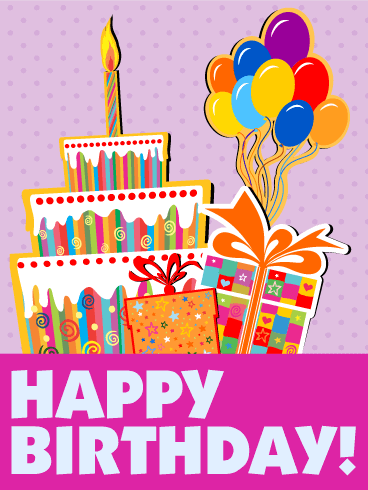 Let's Have Fun! Happy Birthday Cards for Kids