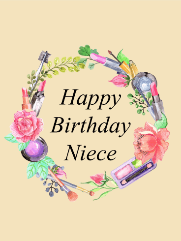 Birthday cards for niece birthday greeting cards by davia thinking of you today happy birthday card for niece bookmarktalkfo Image collections