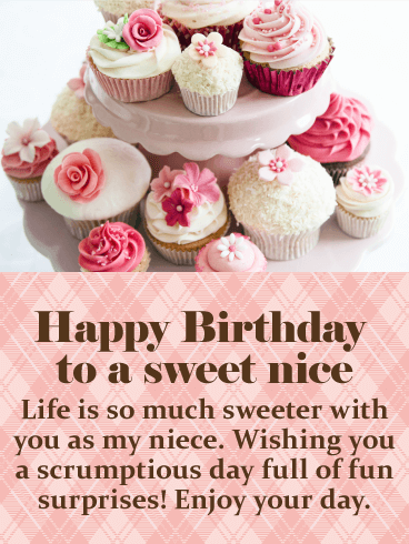 Happy Birthday Niece Messages With Images Birthday Wishes And