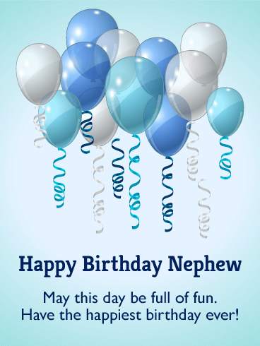 Birthday Cards For Nephew Birthday Amp Greeting Cards By