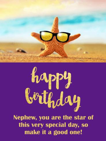 Funny Birthday Card For Nephew