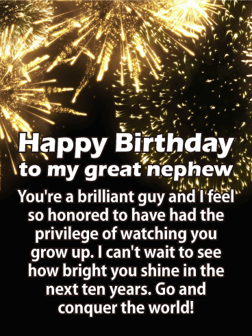 Conquer the World! Happy Birthday Card