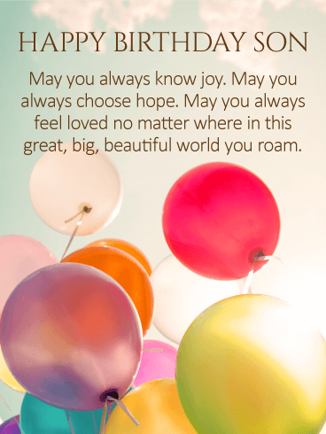 May You Always Know Joy