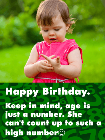 Don't Worry About Your Age! Funny Birthday Card