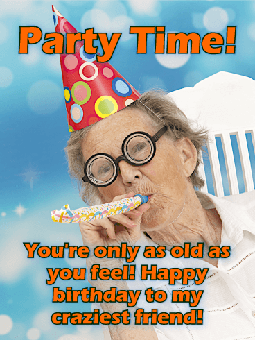 Tremendous To My Craziest Friend Funny Birthday Card Birthday Greeting Funny Birthday Cards Online Alyptdamsfinfo