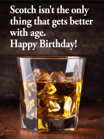 Scotch Prove - Funny Birthday Card