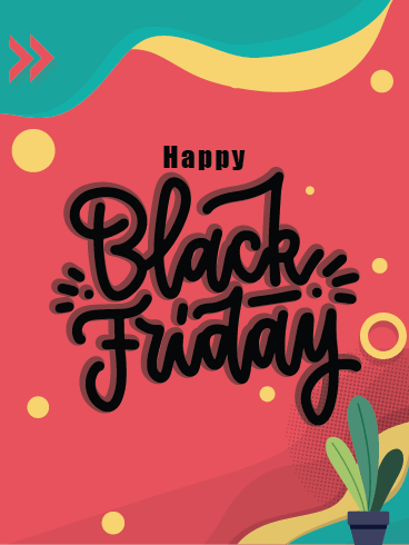 Spend Your Money – Black Friday Cards