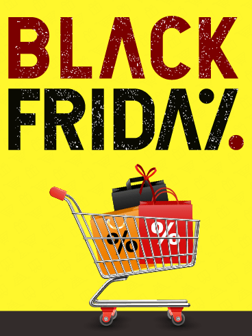 Discounts & Deals – Black Friday Cards