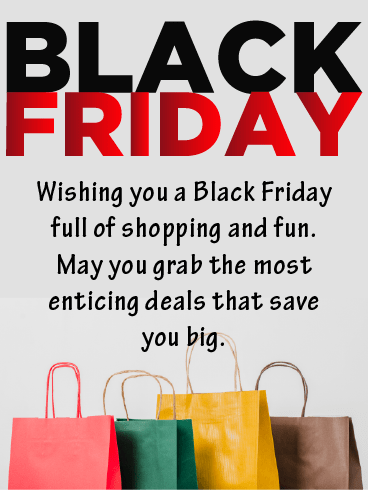 Shop & Fun – Black Friday Cards