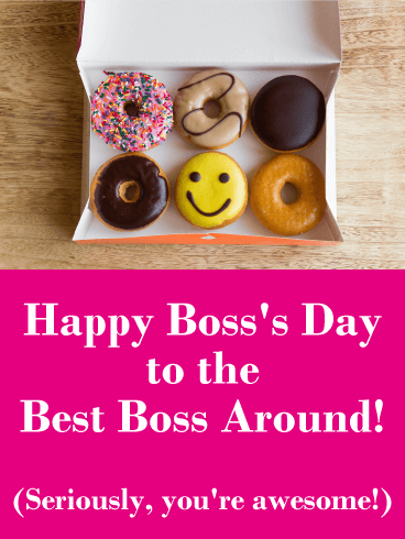 You are Awesome! Happy Boss's Day Card