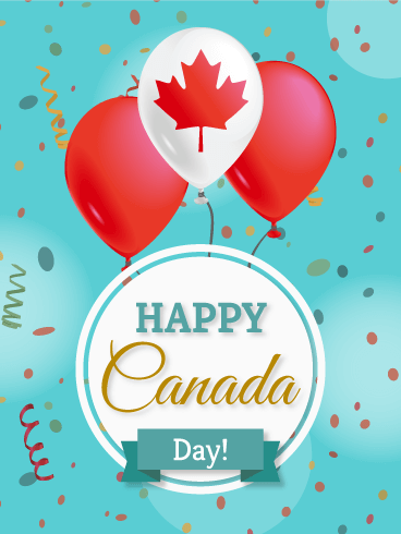 Celebration! Canada Day Card