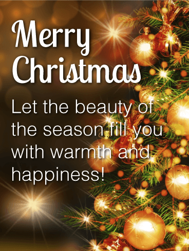 Merry Christmas Wishes with Images and Pictures - Birthday Wishes ...