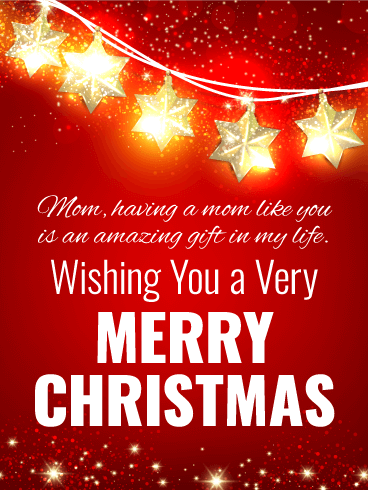 Christmas Message For Mom.Merry Christmas Wishes For Mother Birthday Wishes And