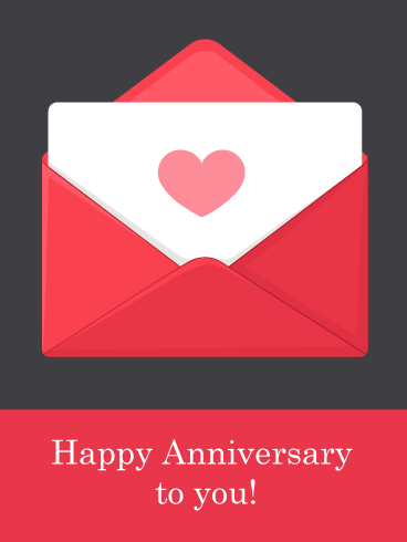 You've Got Mail – Happy Anniversary Card