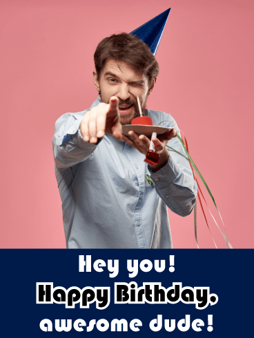 Who's Awesome? – Happy Birthday Card for Him