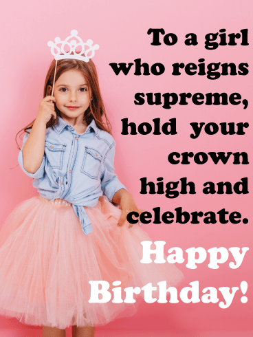 Tutu Princess – Birthday Card for Girls