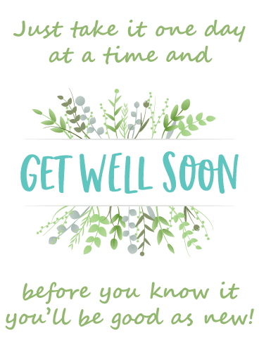 Good As New – Get Well Card