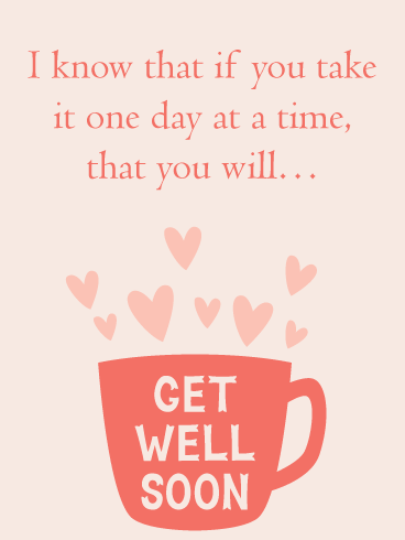 Recovery Cup – Get Well Card