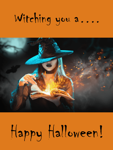 Best Witches – Happy Halloween Card