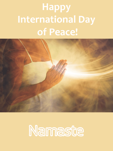 Let Your Light Shine - International Day of Peace Card