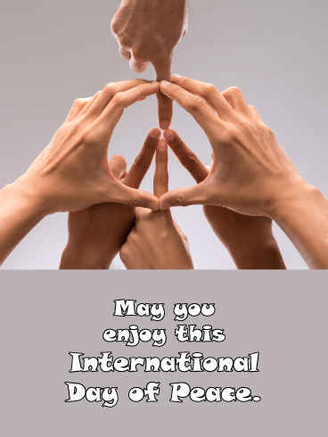 All Together – International Day of Peace Card